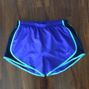 Nike Shorts - Nike Dri Fit Shorts With Drawstrings and Line Blue